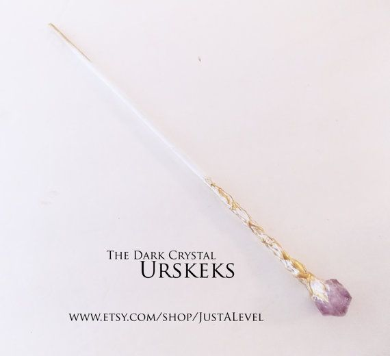 urSkeks  The Dark Crystal Inspired Wand by JustALevel on Etsy
