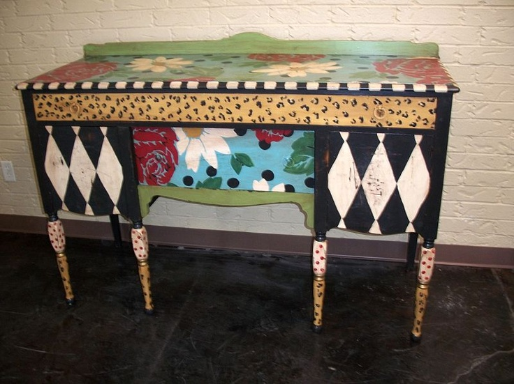 Gorgeous! Hand Painted FurnitureUpholstered ...