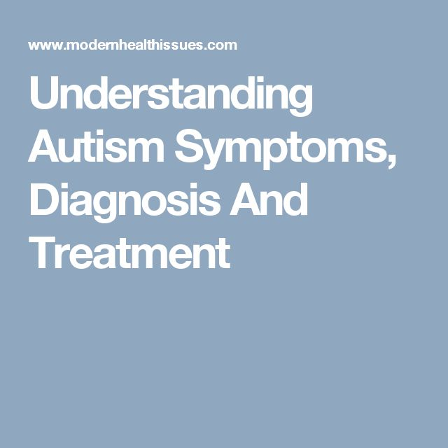 a study on autism symptoms and treatment Teenagers with autism: symptoms, treatment, & help by michael hurst autism spectrum disorders (asd), also known as pervasive developmental disorders (pdd), are a group of developmental brain disorders characterized by difficulties with communication, social interactions as well as obsessions and repetitive behaviors.