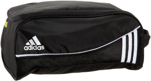 adidas Estadio Team Shoe Bag Soccer Shoe Bag,Black,One Size by adidas. $20.00
