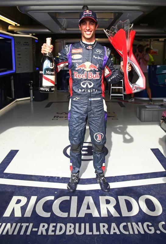 Daniel Ricciardo @ 2014 Formula 1 Grand Prix du Canada: Race Winner