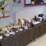 Trade Table Fairfield Primary, Cheshunt 26th March 2010 by MayKingTea, via Flickr
