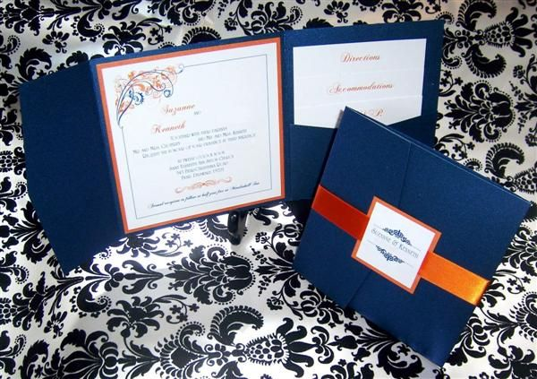Dark Blue Wedding Invitations: 124 Best Images About Illini Parties & I-Dos On Pinterest