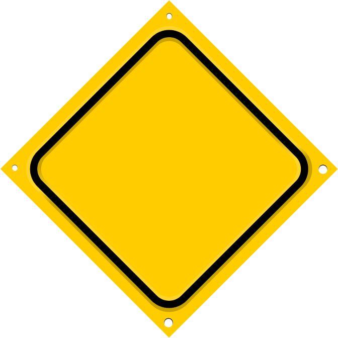Straßenschild Diagonale leer – Natural Butterfli