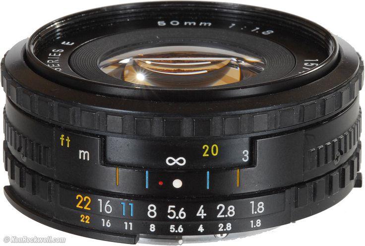 Nikon 50mm f/1.8 Series E Black manual lens $30-50