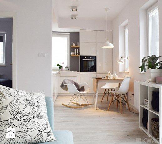 Salon w stylu skandynawskim - zdjęcie od Kwadraton