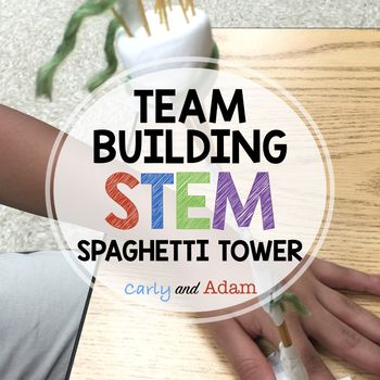 Spaghetti Tower STEM Challenge This is a great product to begin building community in your classroom while introducing STEM. For this activity the students must build a tower out of spaghetti. INCLUDED: -Teacher Instructions for