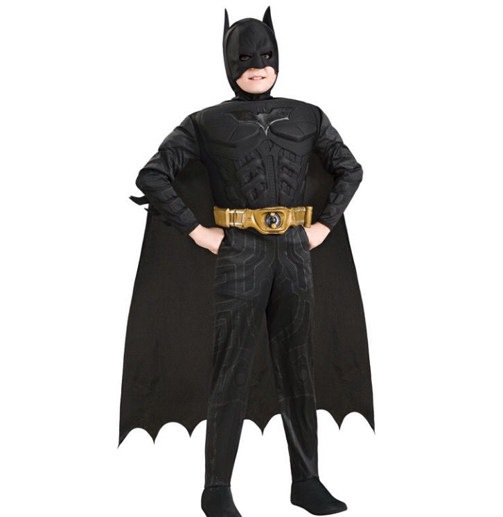 Kinder kostuum Batman deluxe