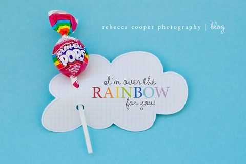 Over the Rainbow: Free Printable