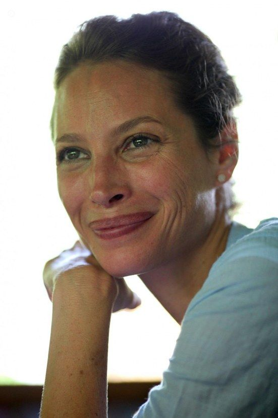 Everybody is so anti-aging, but I don't want to look younger than I am. Our face is a map of our life; the more that's there, the better. ~Christy Turlington Burns
