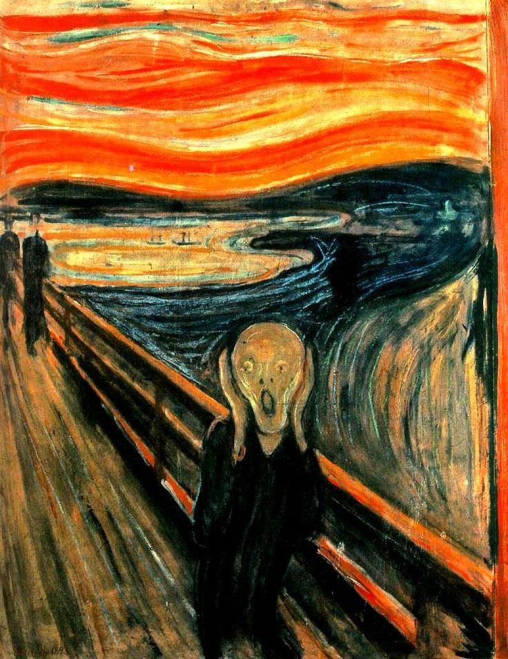 Análisis y comentario del Grito. Munch   sdelbiombo. Una mirada artística al mundo