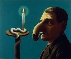 Magritte, la trahison des images / Où : Centre Pompidou, place Georges-Pompidou, 75004 Paris / Quand : Du 21 septembre 2016 au 23 janvier 2017 / René Magritte, La Lampe philosophique, 1936 / © ADAGP, Paris 2016 - Photothèque R. Magritte