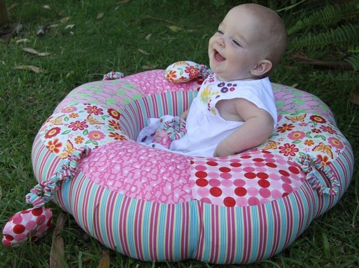 Sit Me Up Donut - Baby Nest | Craftsy