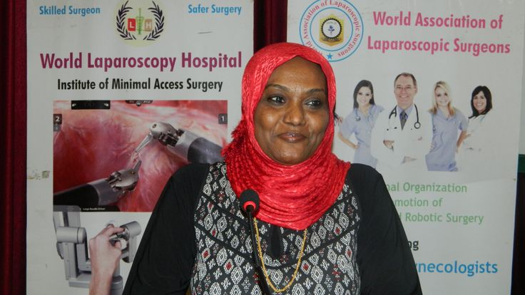 Dr. Amina Ahmed Mahgoub is giving the feedback about the World Laparoscopy Hospital. For more detail please log on to www.laparoscopyhospital.com