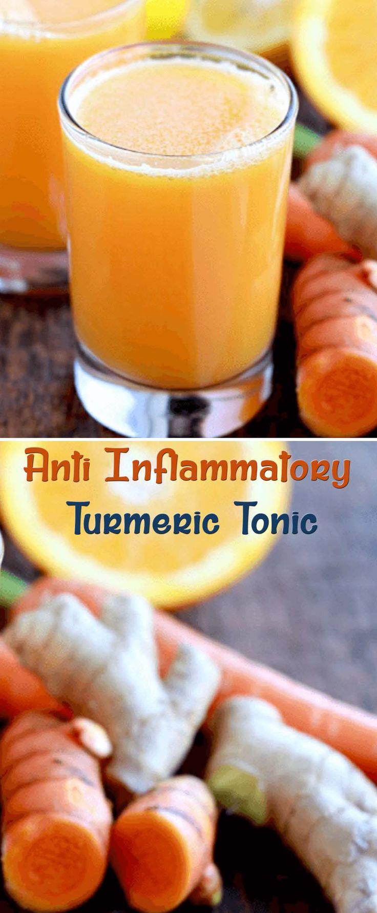 Anti Inflammatory Turmeric Tonic