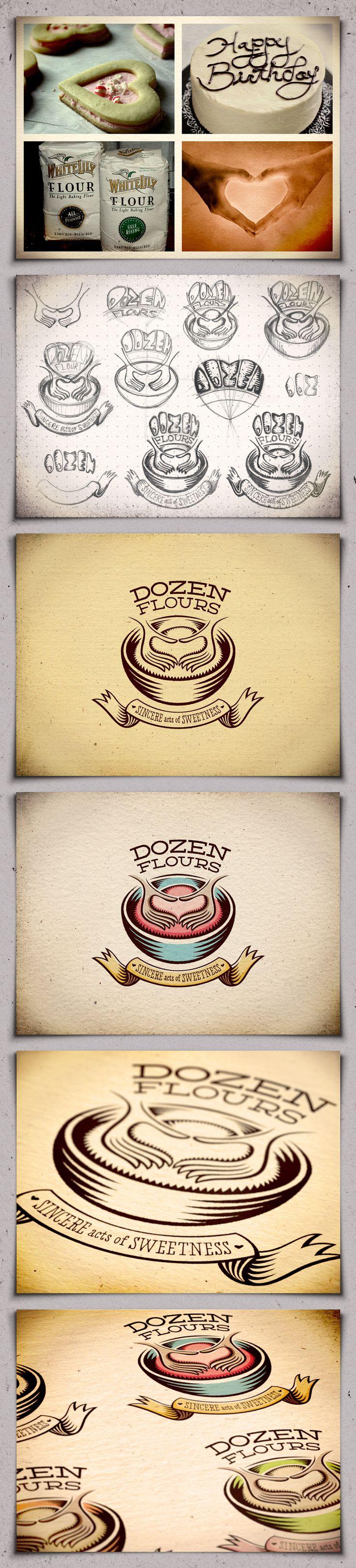 Av-dozen-flours02-attachment-6images: Baking Blog, Branding Design, Flours02 Attachment, Dozen Flours02, Logo Icon Typography Design, Favorite Pin Terest, Blog Identity, Logos Marks Identity, Branding Logo Gasm