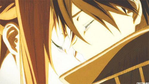 Kirito & Asuna   Sword Art Online   #SAO   #anime   (gif)