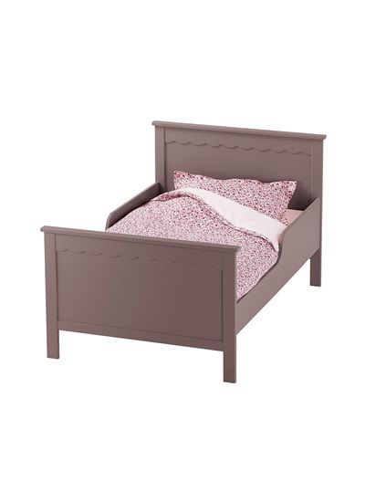 lit volutif enfant gaufrette rose poudre blanc parme. Black Bedroom Furniture Sets. Home Design Ideas