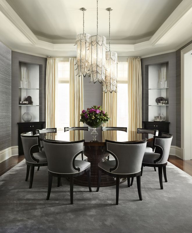 15 High End Contemporary Dining Room Designs: Contemporary Dining Room