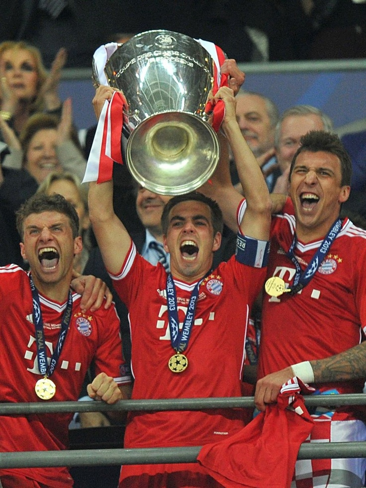 ~ Philipp Lahm - Captain of Champions League winners, Bayern Munich ~