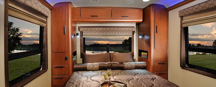 We Wouldn 39 T Mind Sleeping In This Motorhome You Interior Bedroom In The Aviator Trailer With