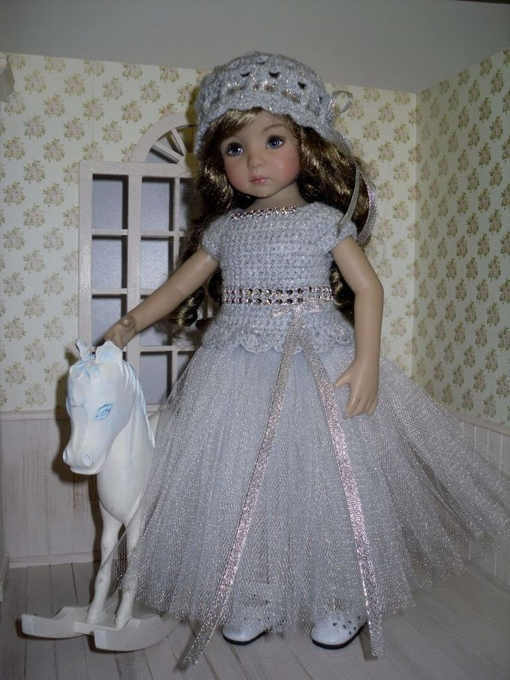 Set for Dianna Effner Little Darling 13 inches doll - blouse, skirt, hat. | eBay
