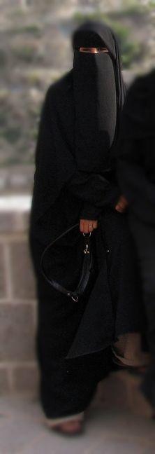 Black Niqab