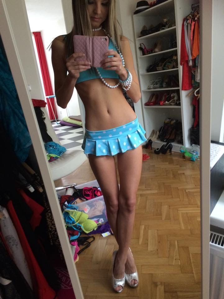 coleen-crossed: teenintightdress: More: http://teenintightdress.tumblr.com/ Sissy rule: Your skirt can never be too short!