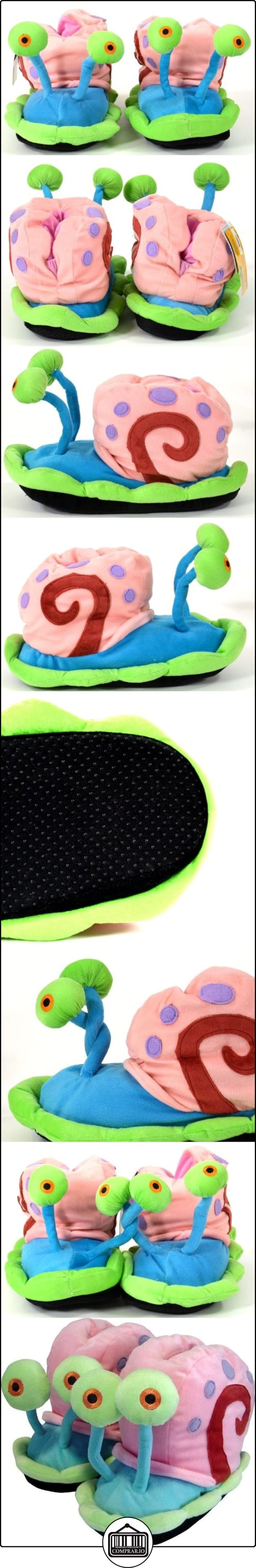 Spongebob Schwammkopf 112225  - Zapatillas de felpa de estar por casa diseño Bob Esponja : Gary (talla L) [Importado de Alemania]  ✿ Regalos para recién nacidos - Bebes ✿ ▬► Ver oferta: http://comprar.io/goto/B000QUPNOC