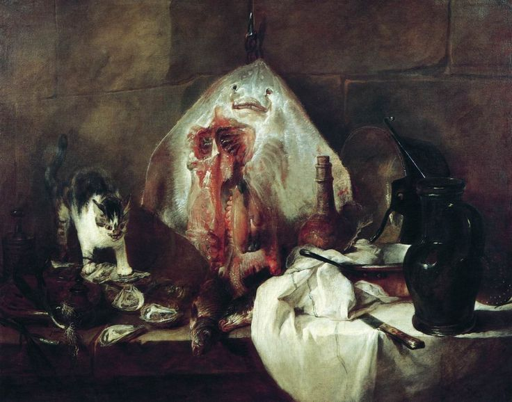 Шарден. СКАТ. 1725−1726 гг.  Лувр, Париж.