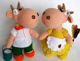 17 mejores ideas sobre Vaca De Ganchillo en Pinterest ...