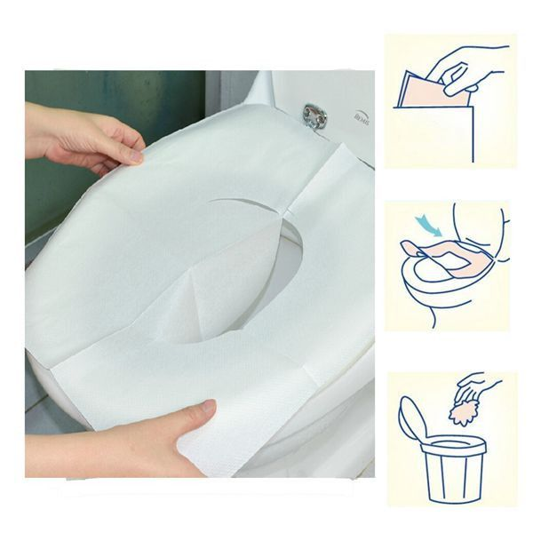 plastic toilet seat covers. 1 Pack 10Pcs Clean Disposable Paper Sanitary Toilet Seat Covers Camping  Travel 25 unique seat covers ideas on Pinterest seats