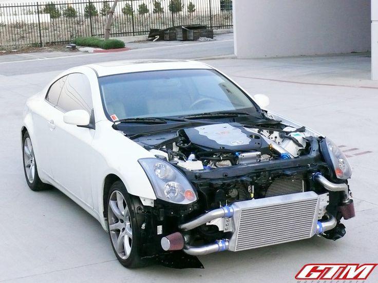 Our new G35 turbo kit! | B&R Performance | Pinterest