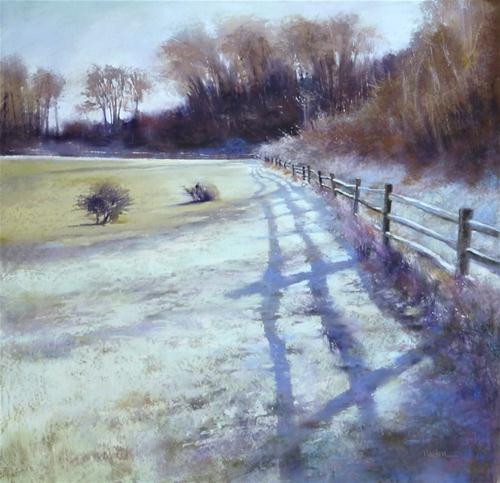"""""""Heartbreak Morning"""" - Original Fine Art for Sale - © Barbara Benedetti Newton"""
