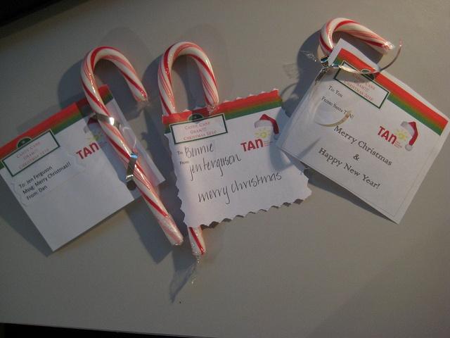 Santa/Candy Cane Grams
