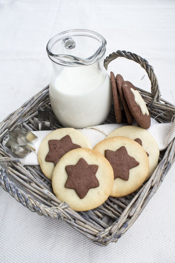 chocOlate vanilla cookies