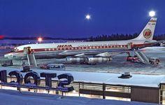 Iberia - Douglas DC-8-52 - Iberia (airline) - Wikipedia