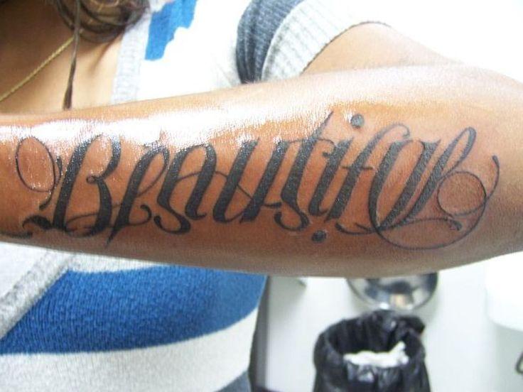 Beautiful Disaster Tattoo Meaning Beautiful arm tattoo