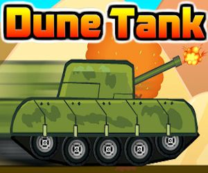 Dune Tank is a cool tank shooting and driving game. Drive with this tank and destroy everything on your path. Shoot (spacebar) and destroy cars or crush them by driving over them. Collect stars to score bonus points. Finish the levels as quickly as you can. There are 10 levels waiting for you.