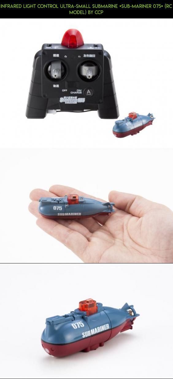 Infrared Light Control Ultra-Small Submarine [Sub-Mariner 075] (RC Model) by CCP #miniature #air #submarine #fpv #gadgets #dive #racing #hogs #products #kit #drone #controlled #master #camera #tech #parts #technology #plans #shopping #remote