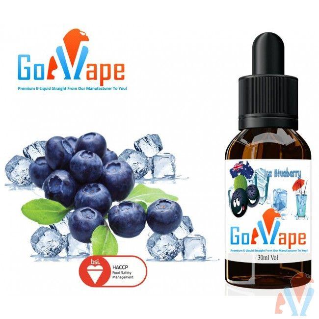 Ice Blueberry Flavour E-Liquid