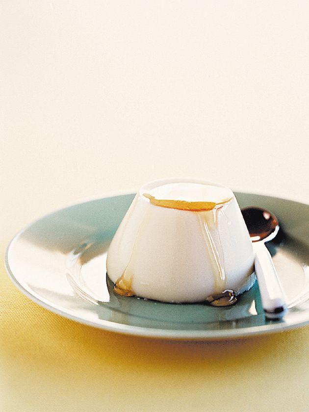 honey-milk puddings