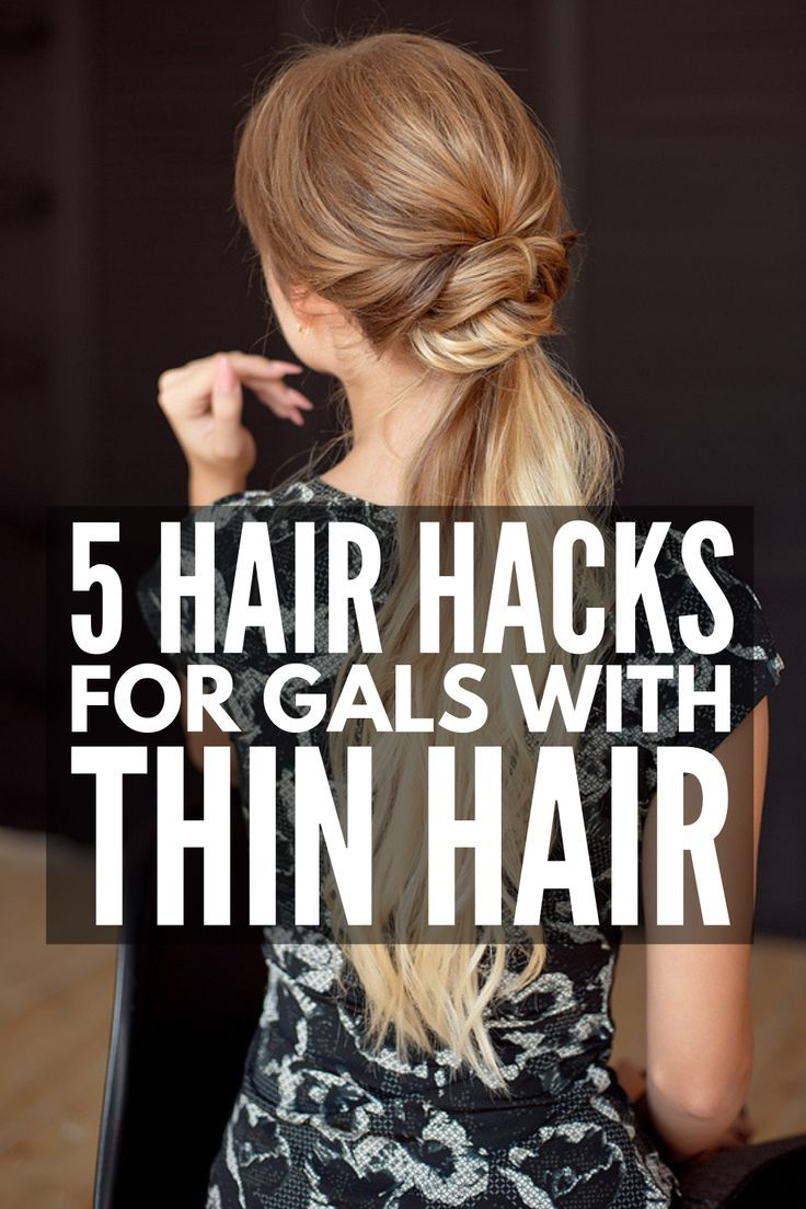 Quick Elegant 23 Step By Step Updos For Thin Hair Thin Hair Updo Hairstyles For Thin Hair Long Thin Hair