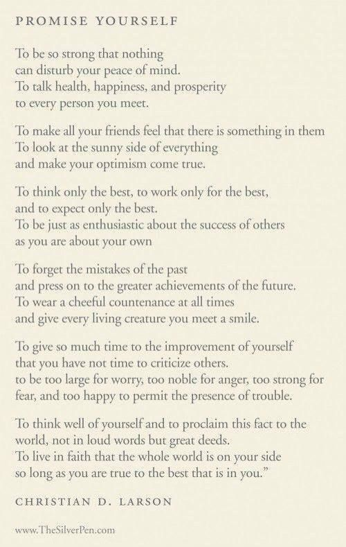 I read this and thought... WoW!!! Could this be a starter recipe for happiness?... This gentleman was on to something :)