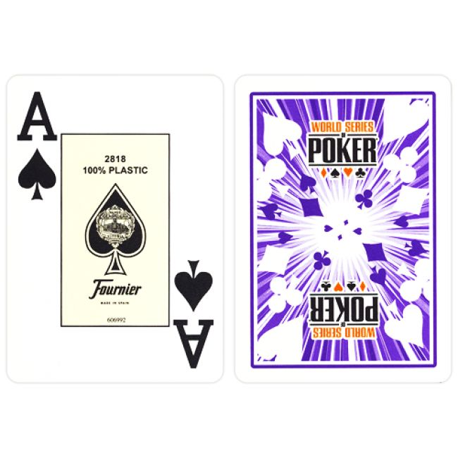 Fournier WSOP speelkaarten blauw