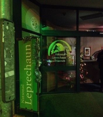 The National Leprechaun Museum in Dublin is the first and only of its kind.