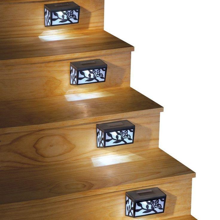 New Outdoor Decorative Solar Step Lights   | eBay