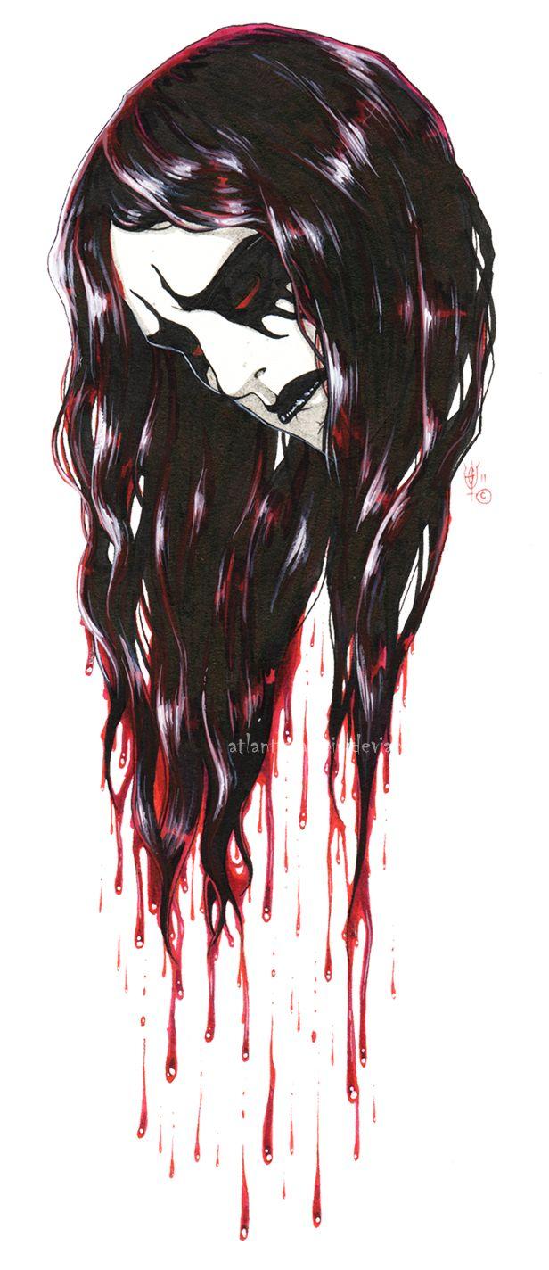 black metal art Reminds me of Xasthur a bit.