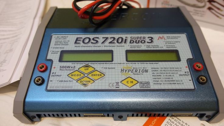 Hyperion EOS720i Super Duo 3 Battery Charger