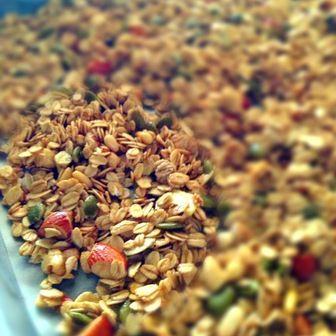 Fruit granola